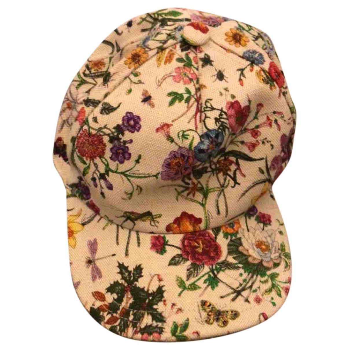 Gucci \N Multicolour Cotton hat for Women S International