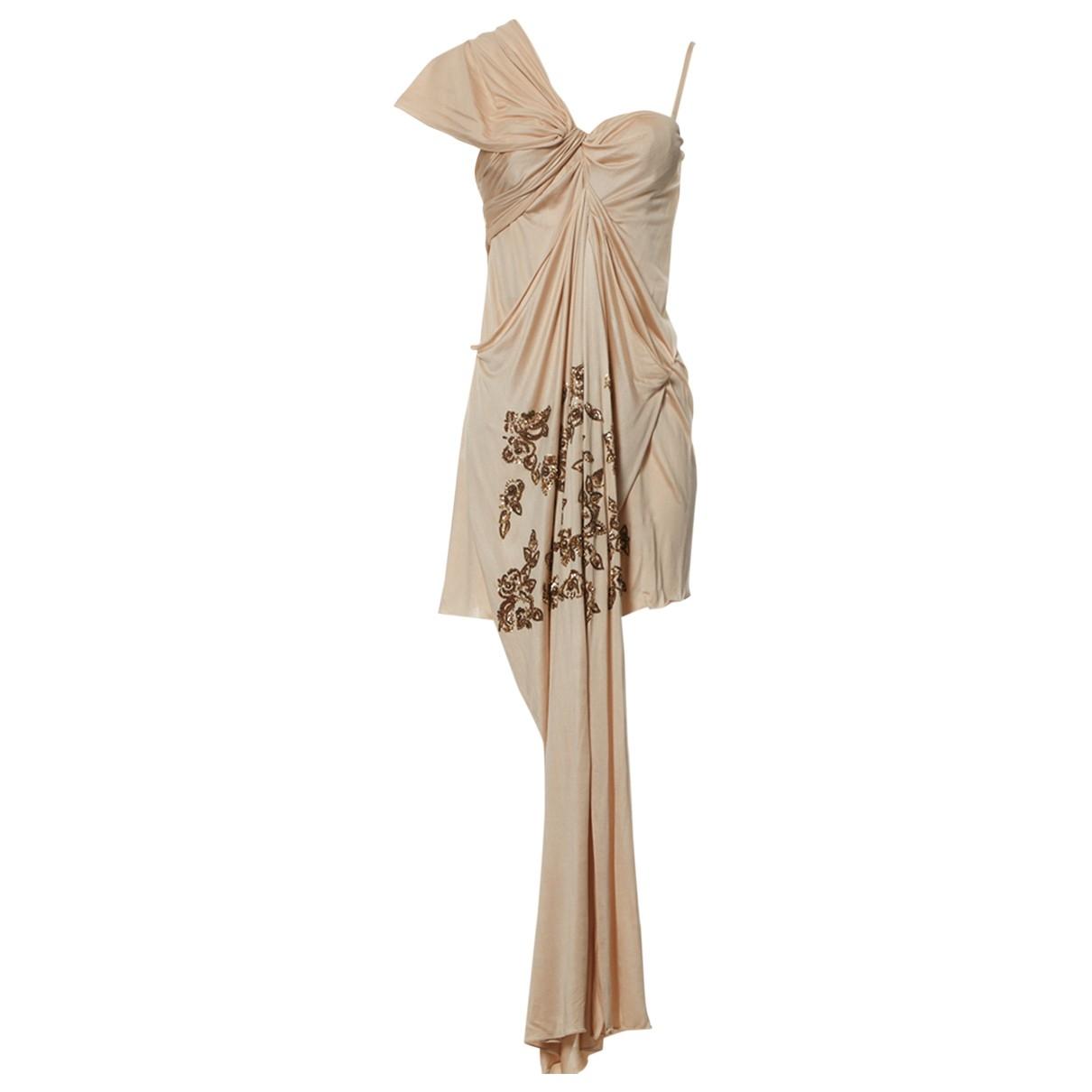 Dior \N Kleid in  Rosa Seide