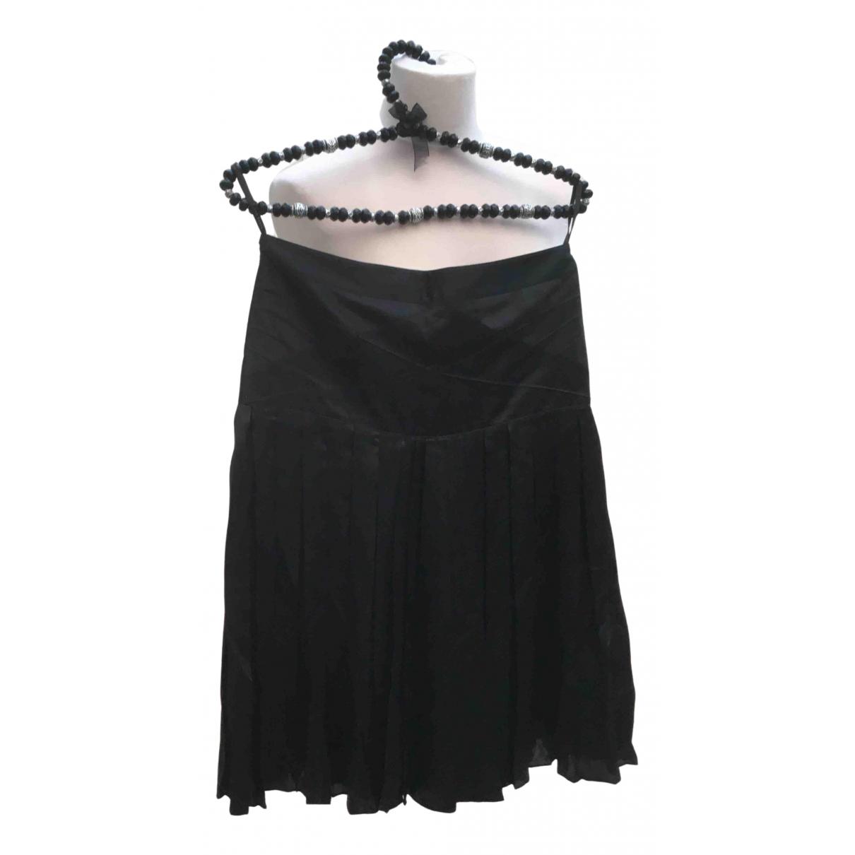 Ted Baker N Black Silk skirt for Women 8 UK