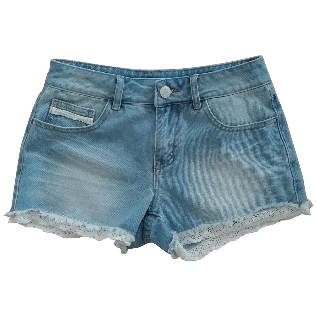 Villa Gaia \N Shorts in  Blau Denim - Jeans