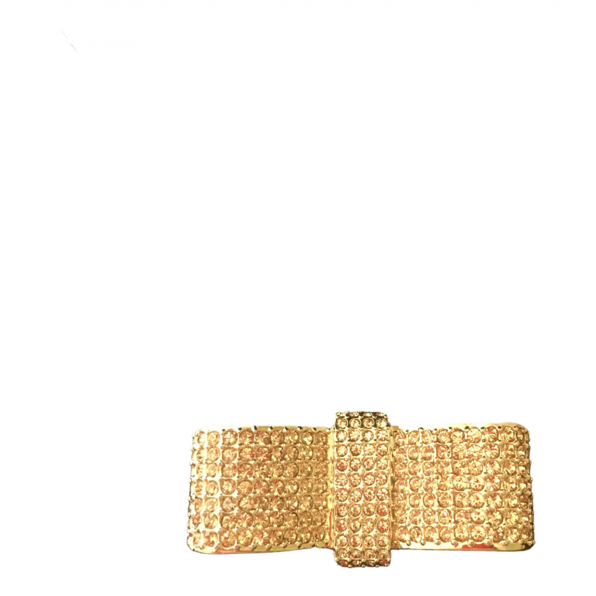 Swarovski - Broche   pour femme en plaque or - dore