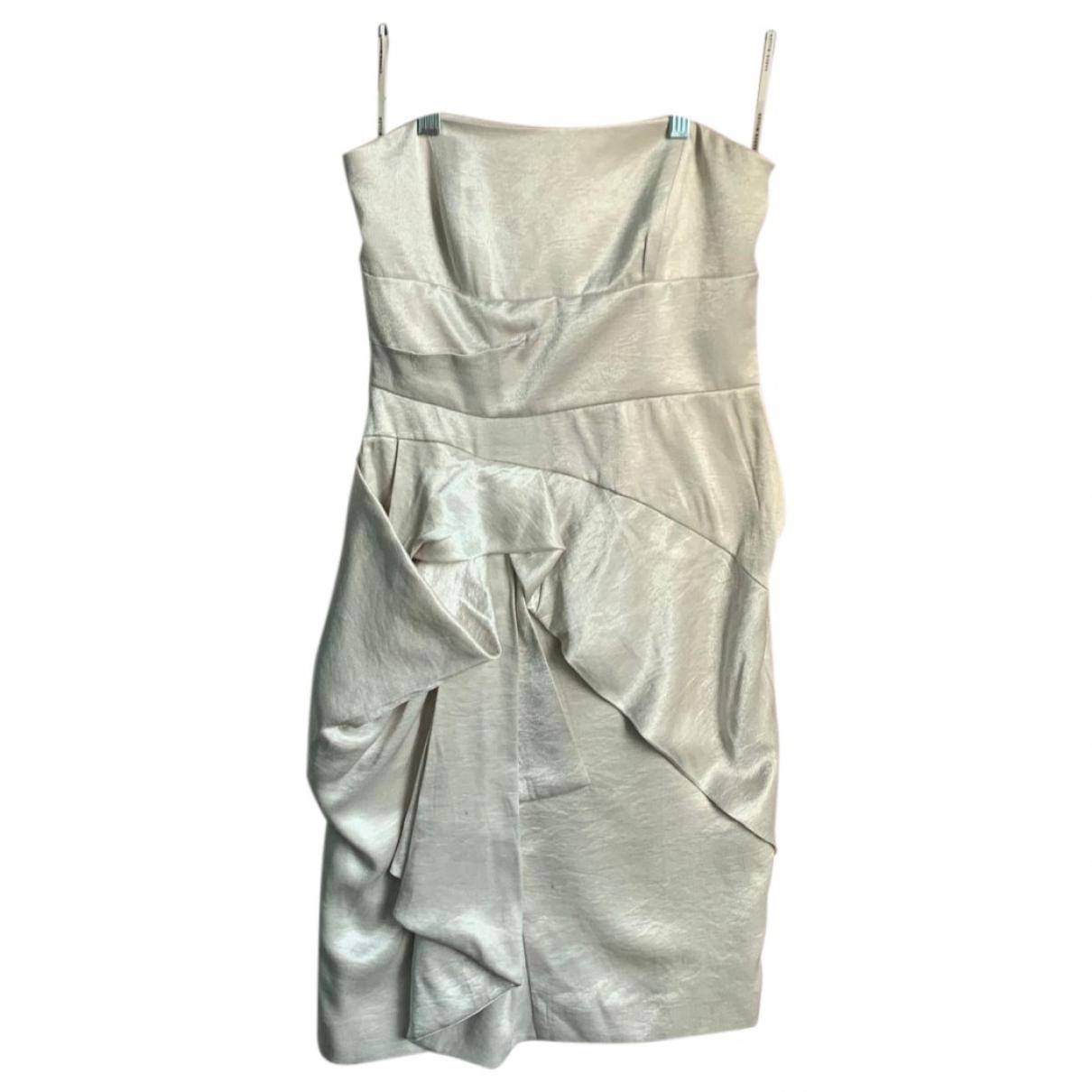 Karen Millen \N Beige dress for Women 8 UK