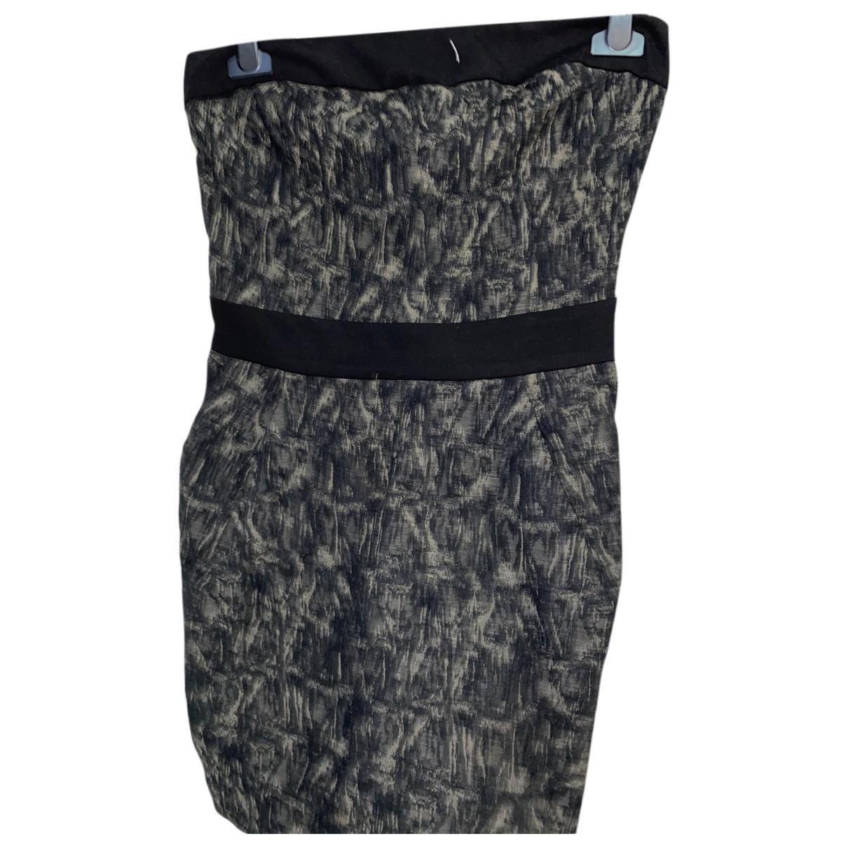 Imperial - Robe   pour femme en coton - elasthane - noir