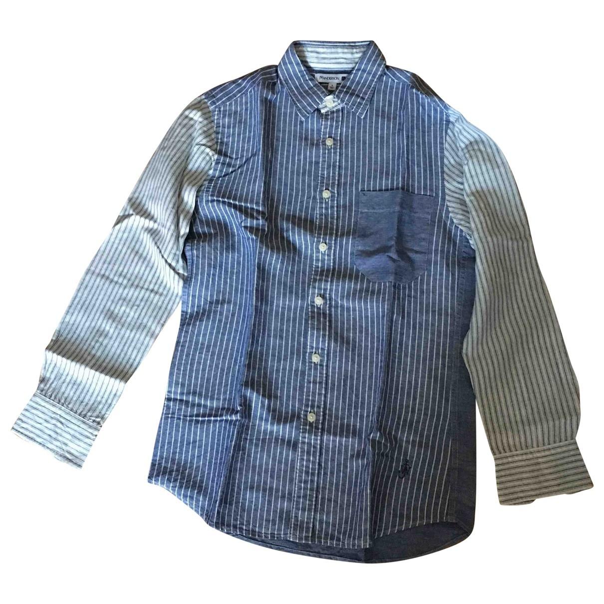 Uniqlo \N Blue Linen Shirts for Men S International