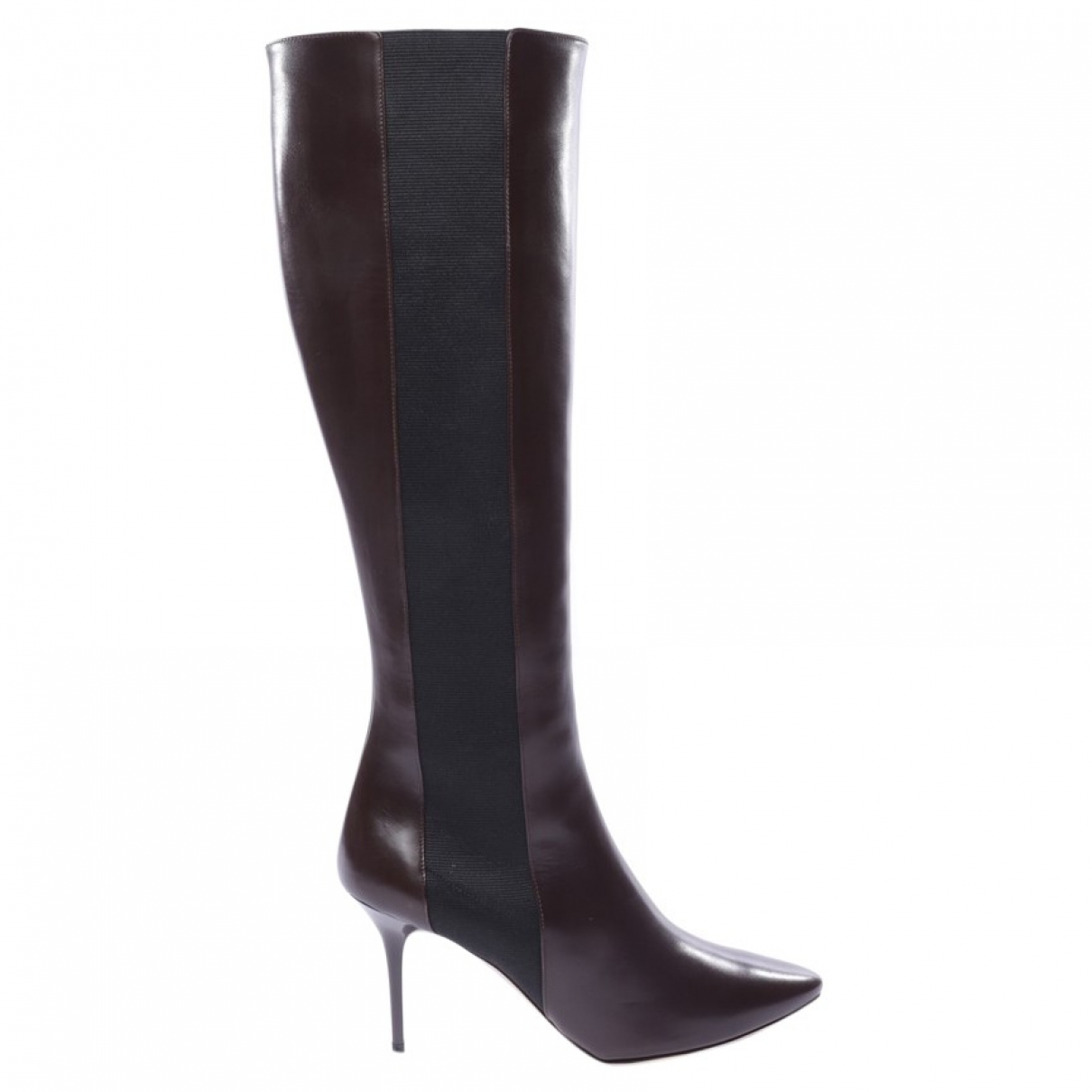 Jimmy Choo \N Brown Leather Boots for Women 41.5 EU