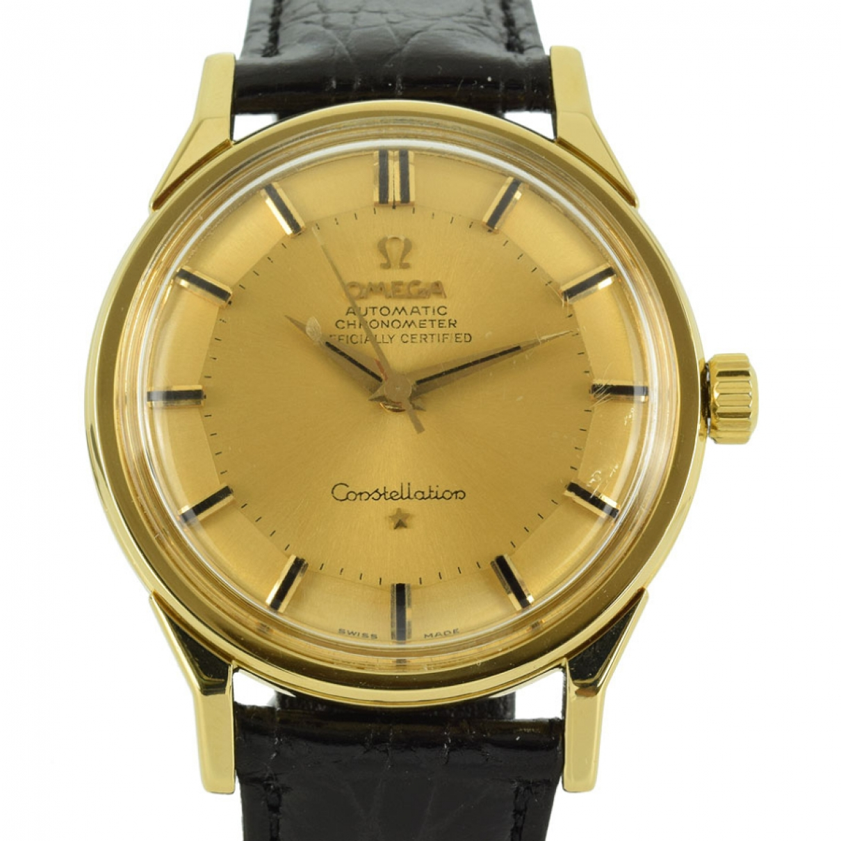 Omega Constellation Gold Yellow gold watch for Men \N