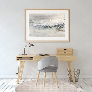 SUNDAY MORNING Office Mat By Kavka Designs (Blush)