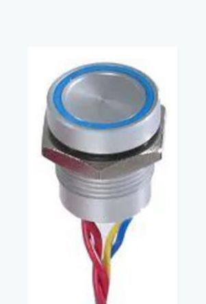 APEM Through Hole Piezo Switch, , IP68, 200 mA @ 24 V dc, -40 → +75°C