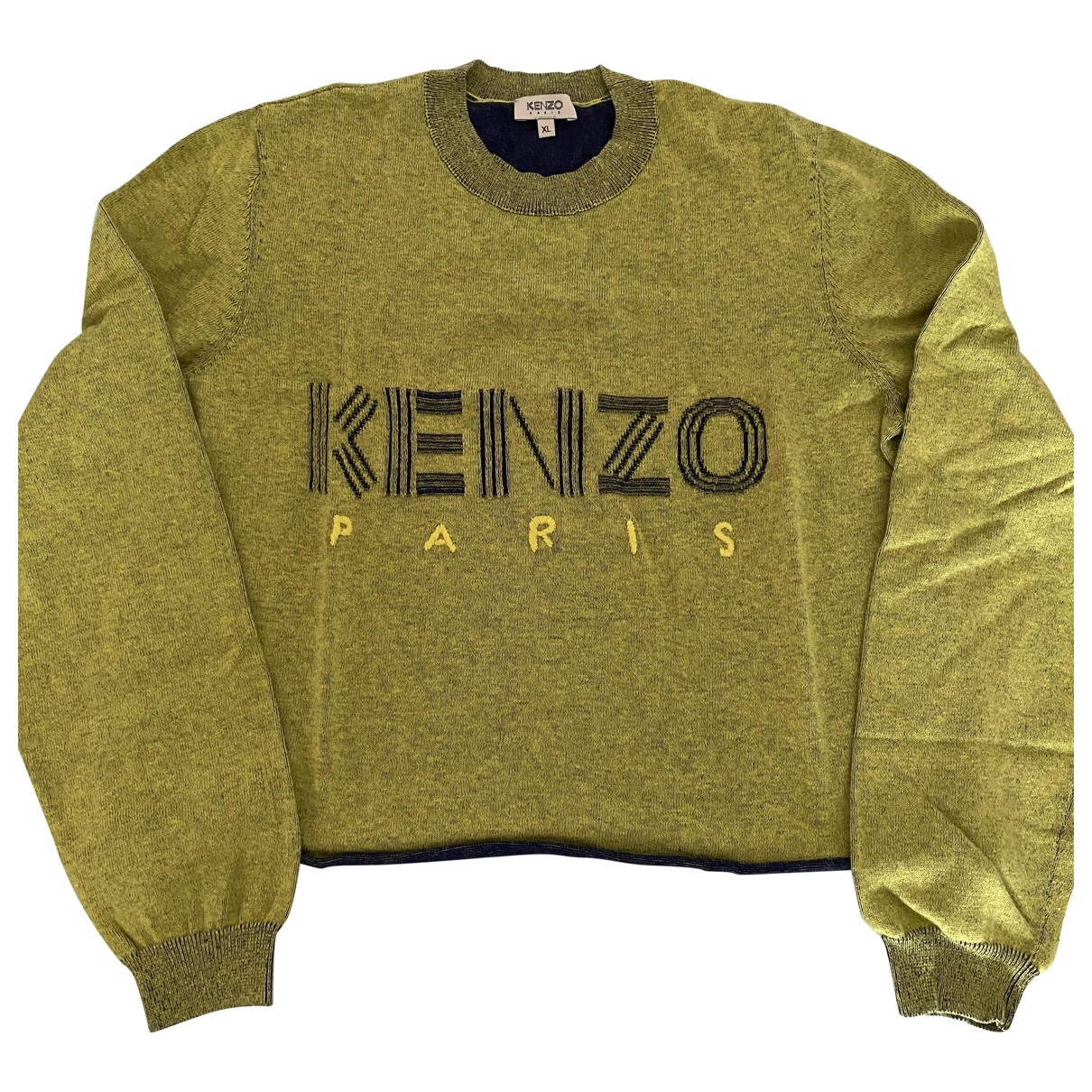 Kenzo \N Yellow Cotton Knitwear for Women XL International
