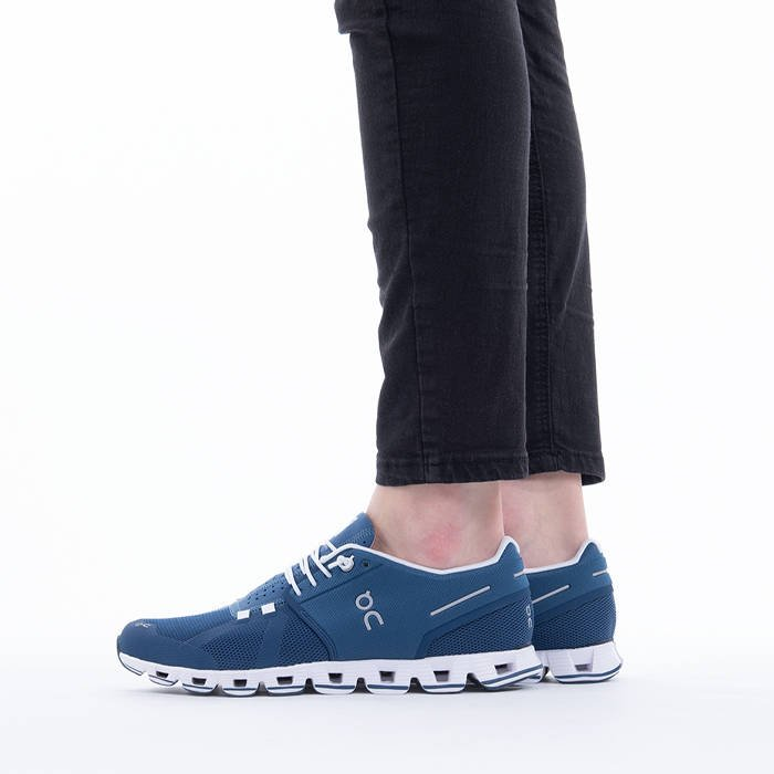 On Running Cloud 194026 DENIM/WHITE