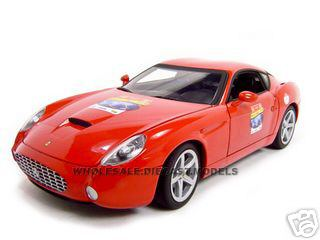 Ferrari 575 GTZ Red 60 Anniversary Edition 1/18 Diecast Model Car by Hotwheels