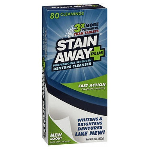 Stain Away Plus Denture Cleanser 8.1 oz by Stain Away