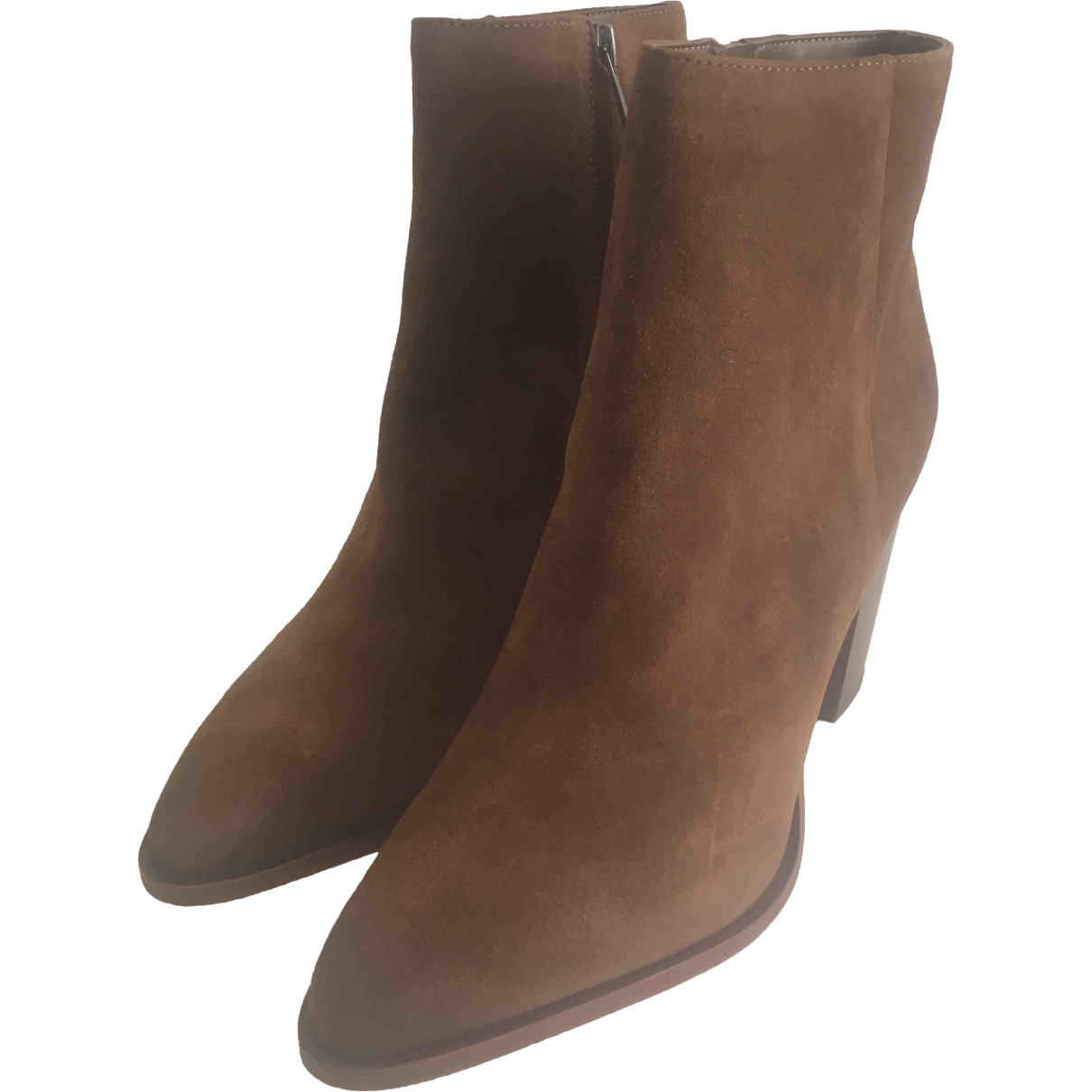 Sam Edelman \N Suede Ankle boots for Women 40 EU