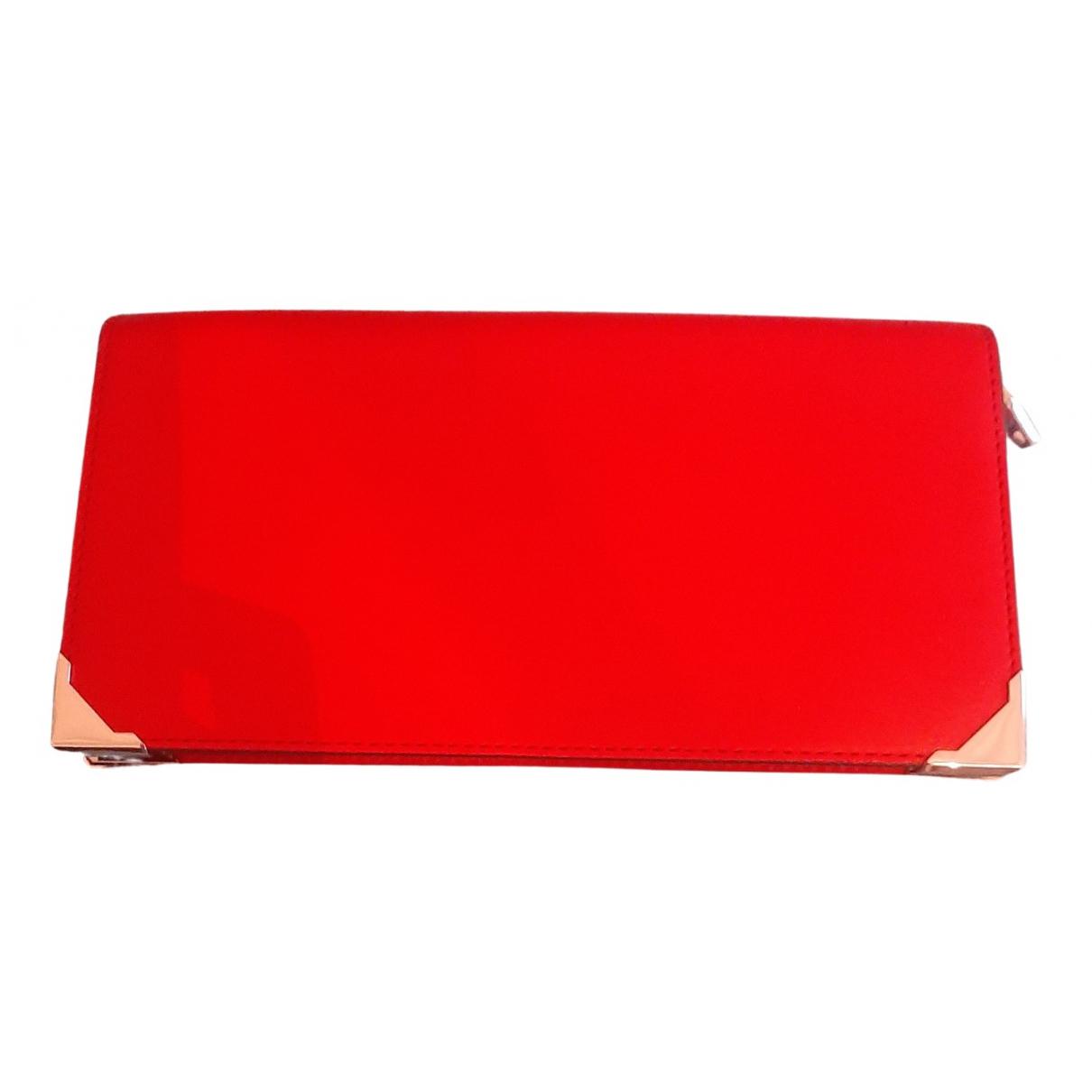Alexander Wang \N Portemonnaie in  Rot Leder