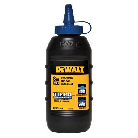 DeWalt 8 oz Chalk- Blue