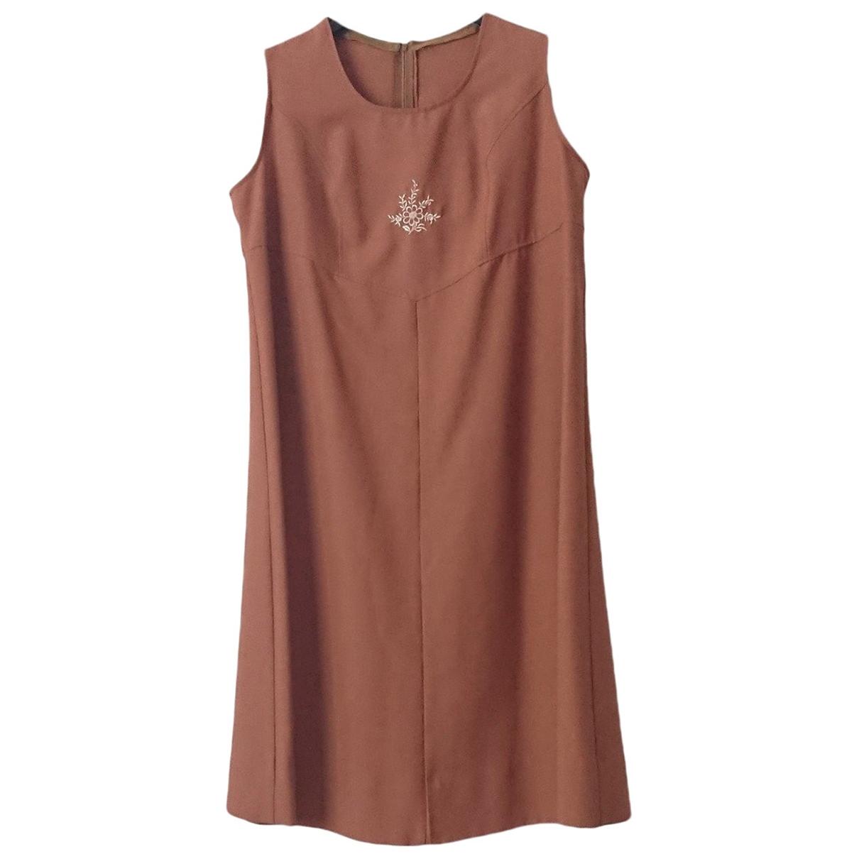 - Robe   pour femme en coton - marron