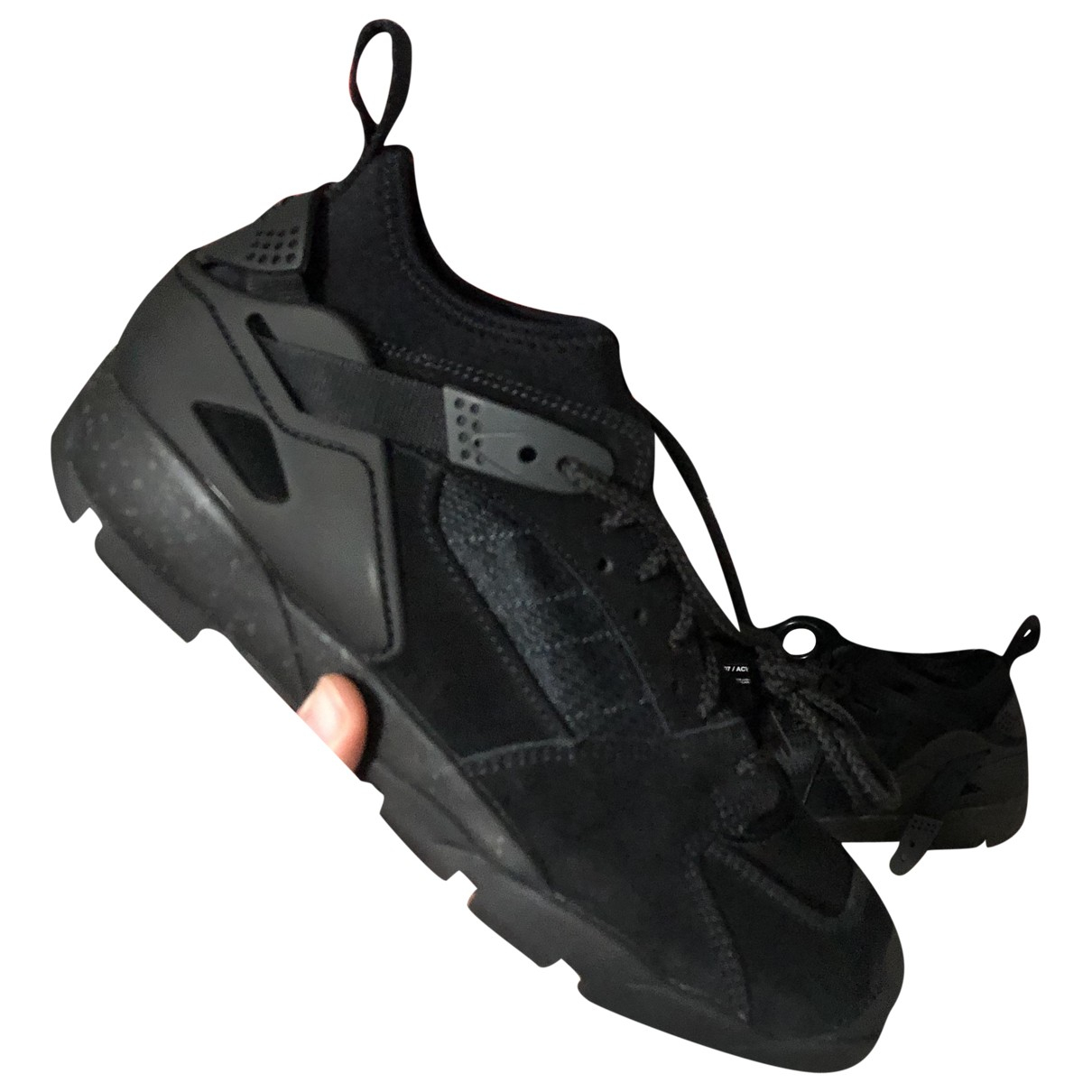 Nike Acg Huarache Sneakers in  Schwarz Veloursleder