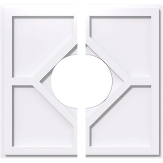 Embry Architectural Grade PVC Contemporary Ceiling Medallion (20