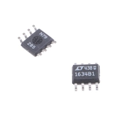 Analog Devices LT1634BCS8-1.25#PBF, Fixed Shunt Precision Voltage Reference 1.25V, ±0.05 % 8-Pin, SOIC (2)