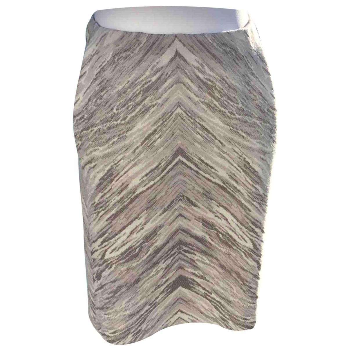 Missoni - Jupe   pour femme en laine - gris