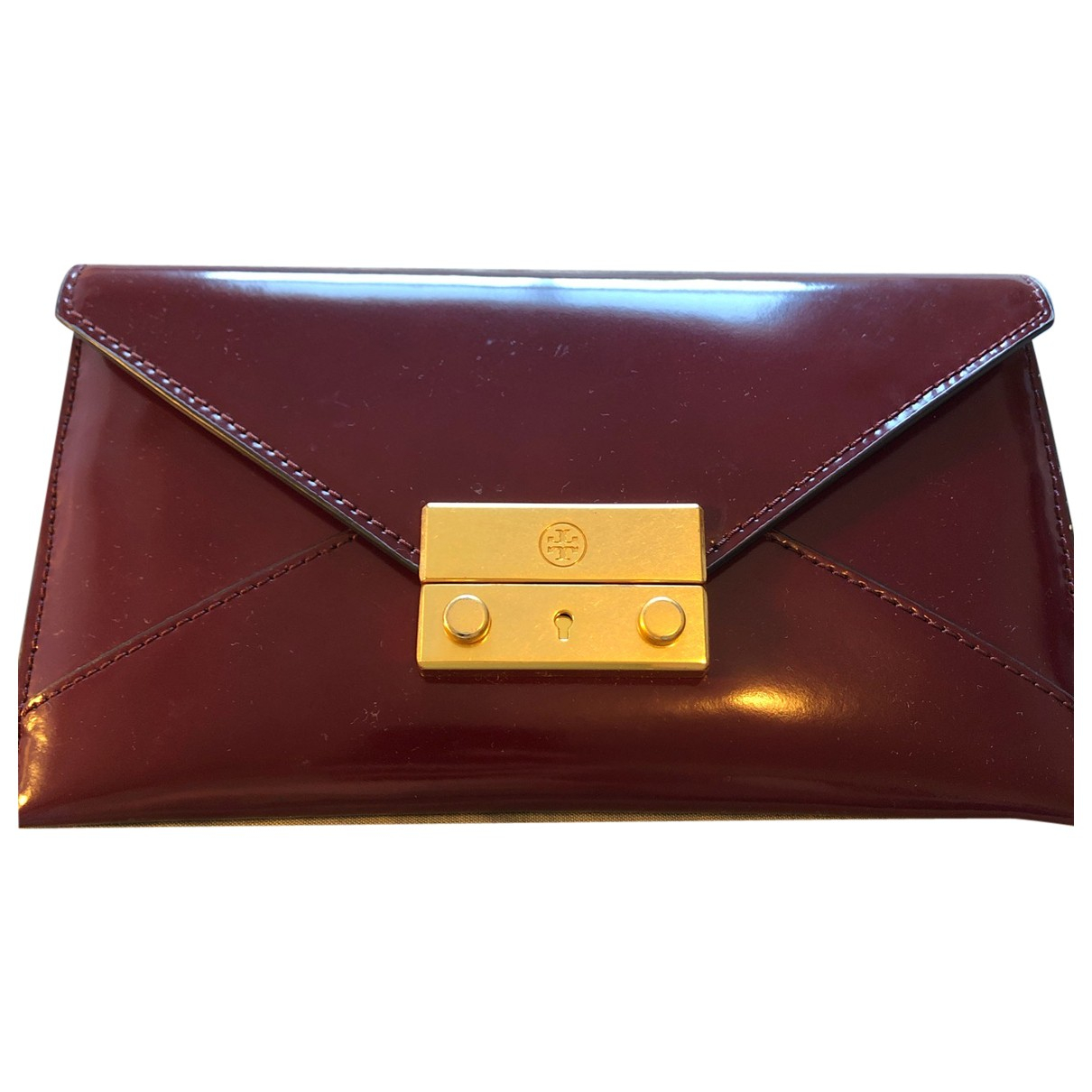 Tory Burch \N Burgundy Leather wallet for Women \N