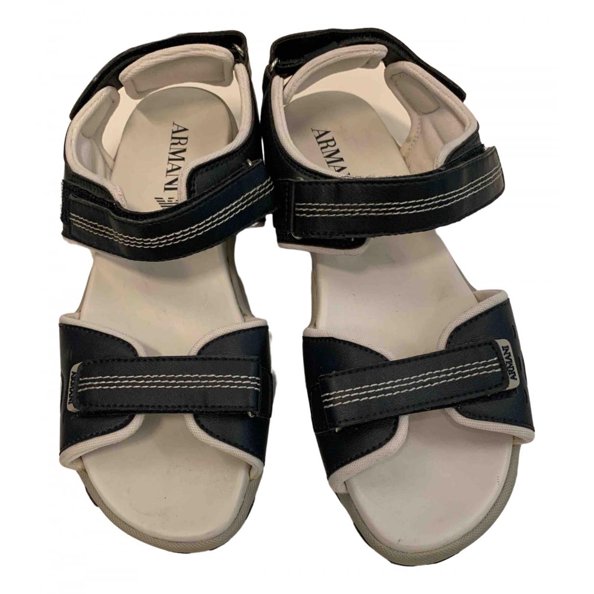 Sandalias de Lona Emporio Armani