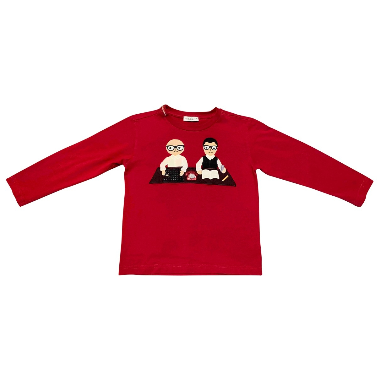 Dolce & Gabbana \N Red Cotton  top for Kids 4 years - up to 102cm FR