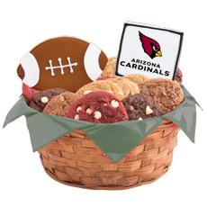 NFL Arizona Cardinals Cookie Basket