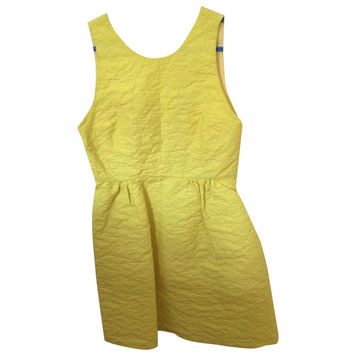 Paul & Joe Sister \N Kleid in  Gelb Baumwolle