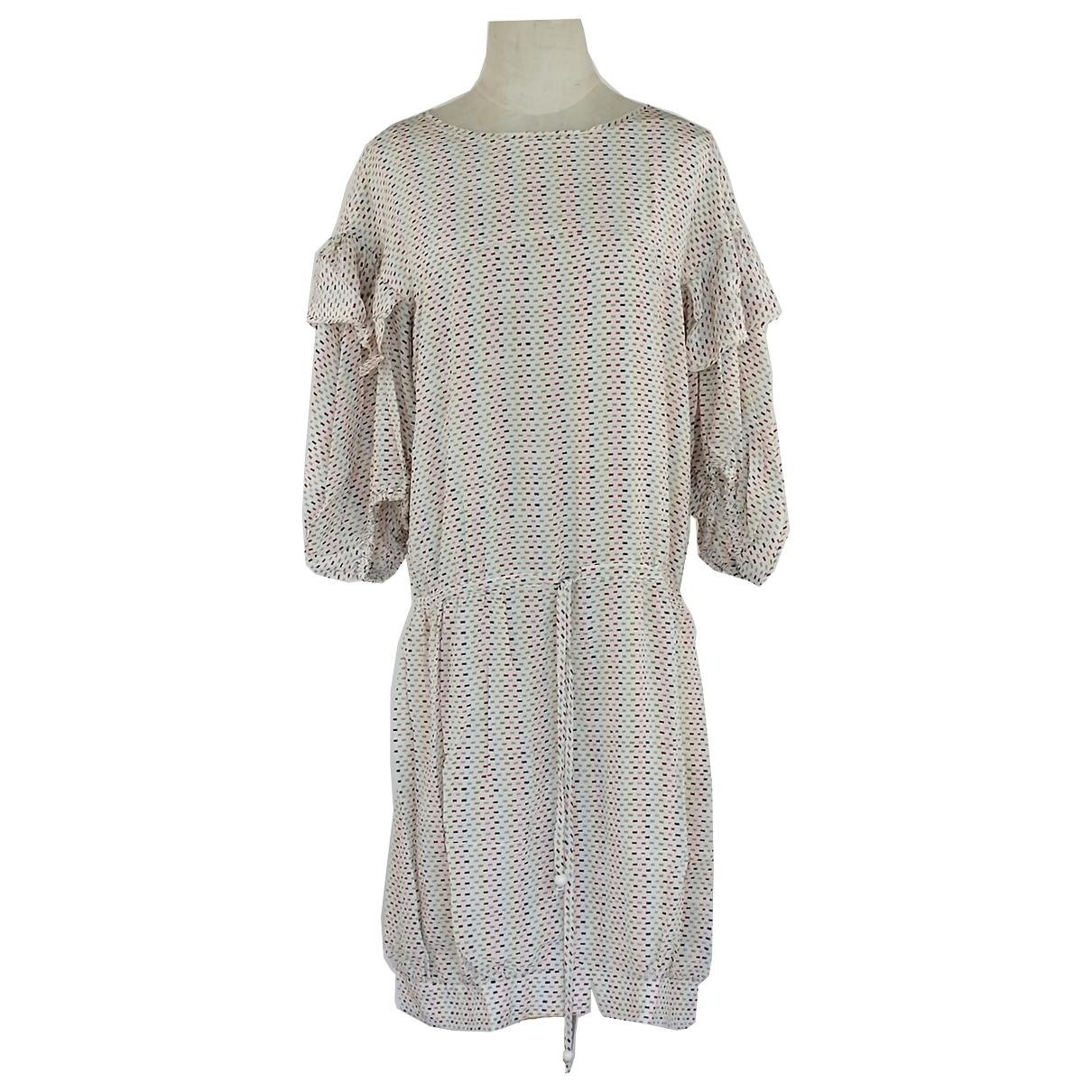 Fendi - Robe   pour femme en soie - multicolore