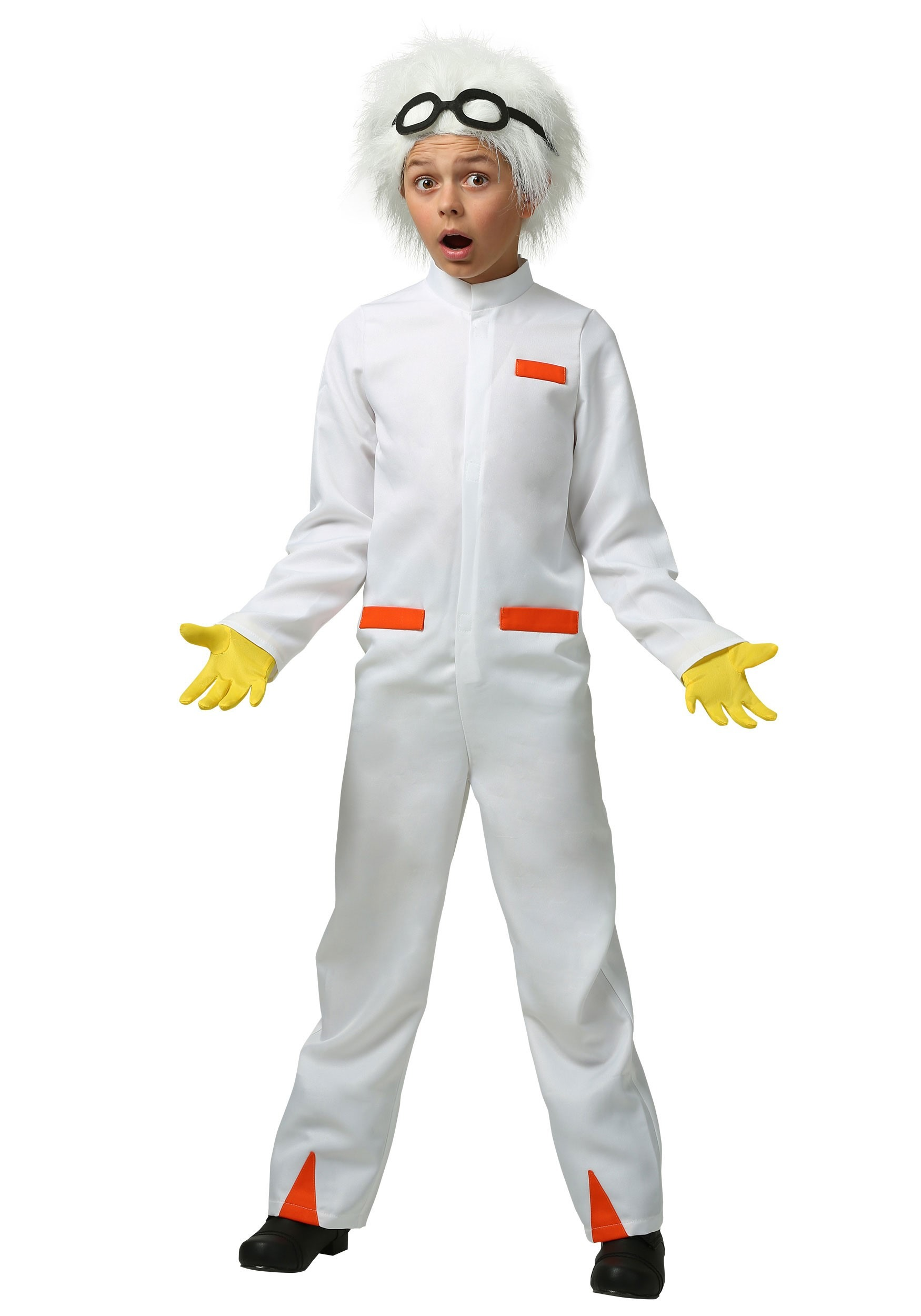 Kids Back to the Future Doc Brown Costume