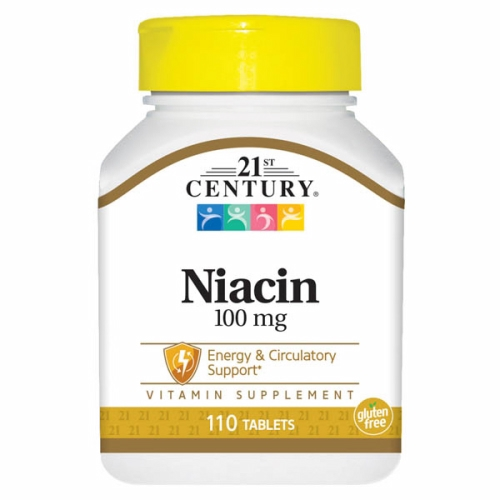 Niacin 110 Tabs by 21st Century