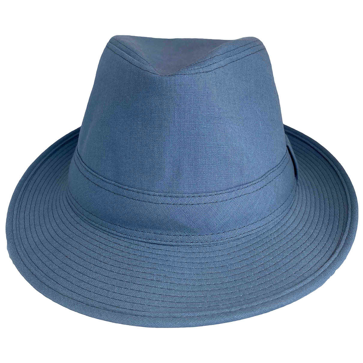 Hermes - Chapeau & Bonnets   pour homme en lin - bleu