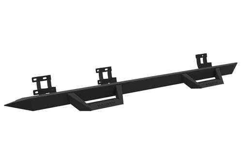 GMC Sierra Side Steps Cab Length 07-13 Sierra 1500 LD Extended Cab Matte Black RT Series ICI Innovative Creations RTS20CH-3