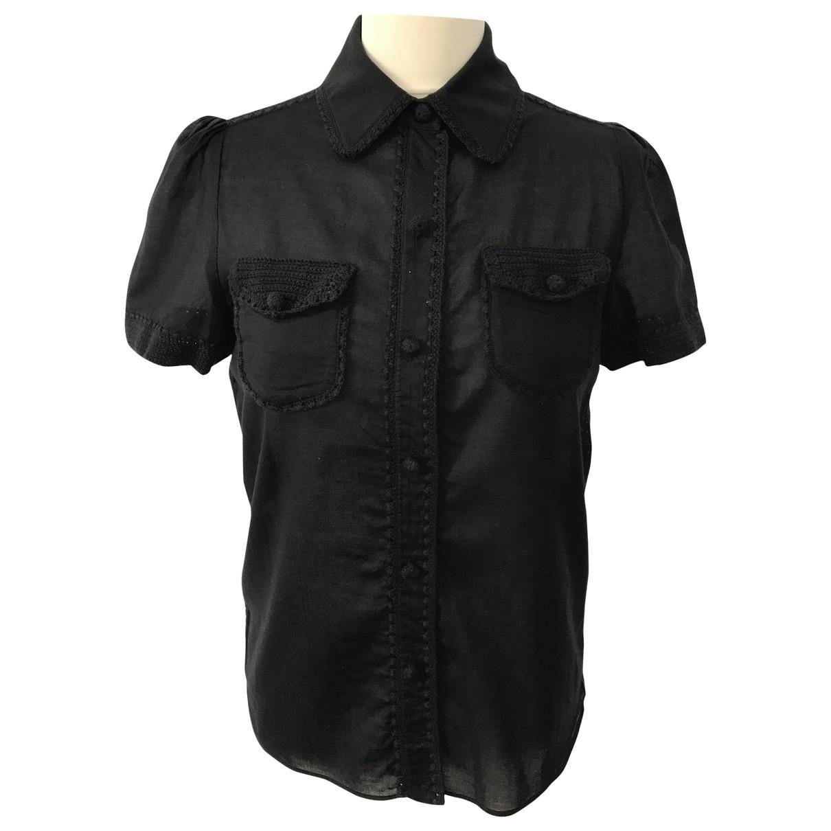 Cacharel - Top   pour femme en coton - noir