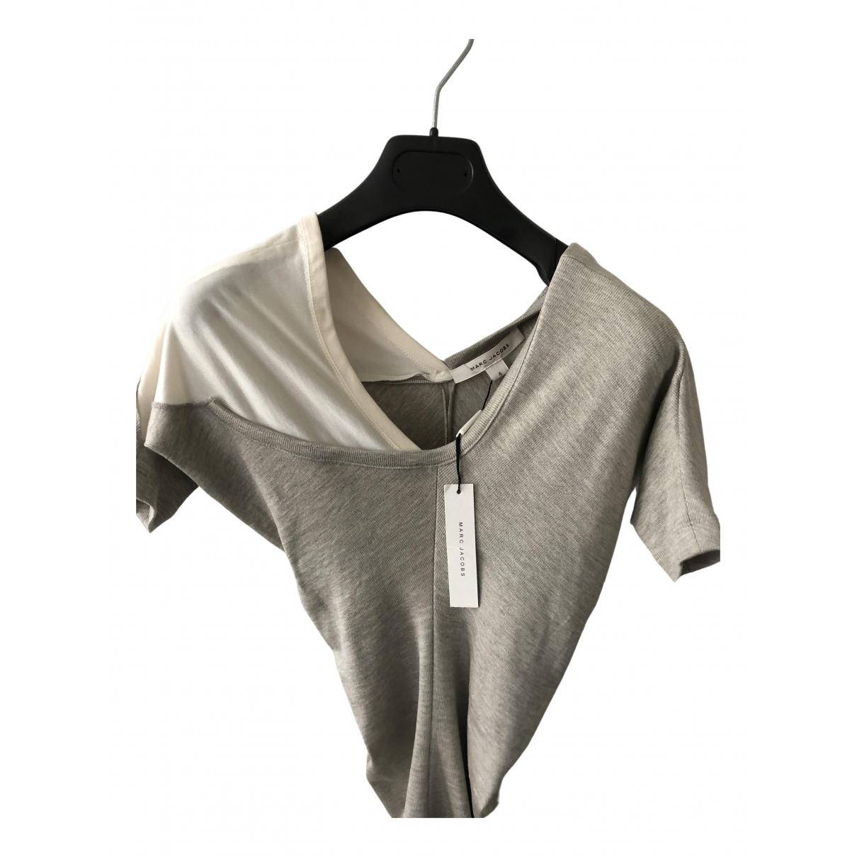 Marc Jacobs - Top   pour femme en soie - beige