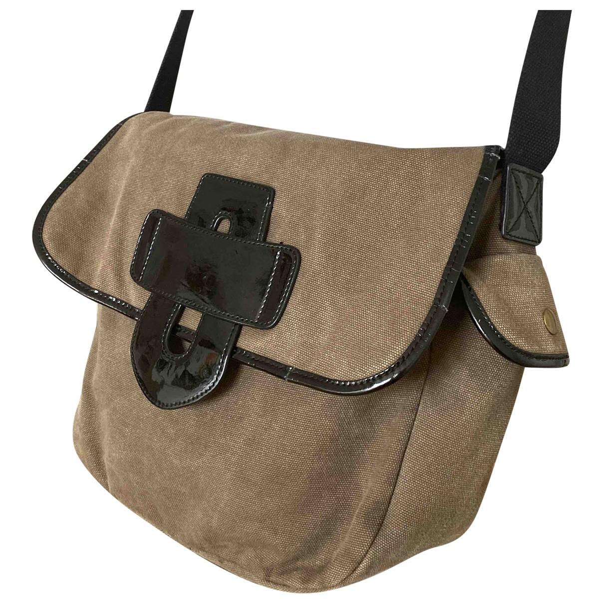 Tila March \N Handtasche in  Grau Baumwolle