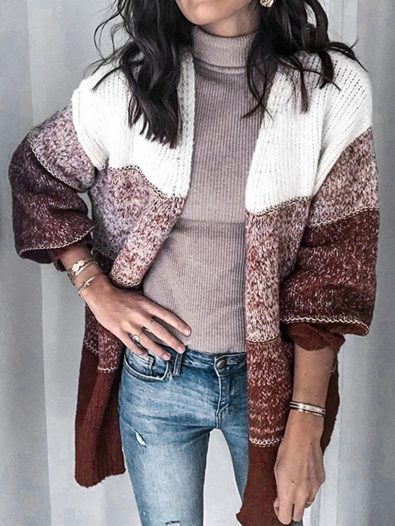 Ericdress Thin Regular Mid-Length Long Sleeve Women's Sweater