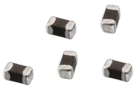 Wurth Elektronik Wurth WE-TM SB Series Ferrite Multilayer SMD Inductor, 0201 (0603M) Case, SRF: 100MHz 200mA dc 450mΩ Rdc (10)