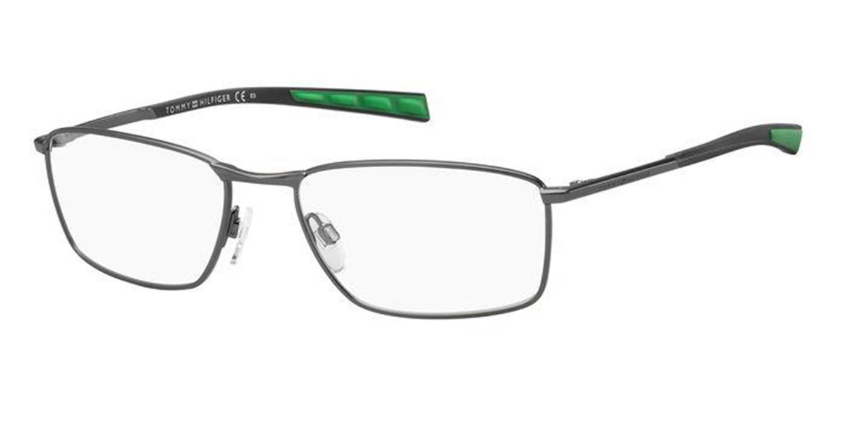 Tommy Hilfiger TH 1783 R80 Men's Glasses Grey Size 57 - Free Lenses - HSA/FSA Insurance - Blue Light Block Available