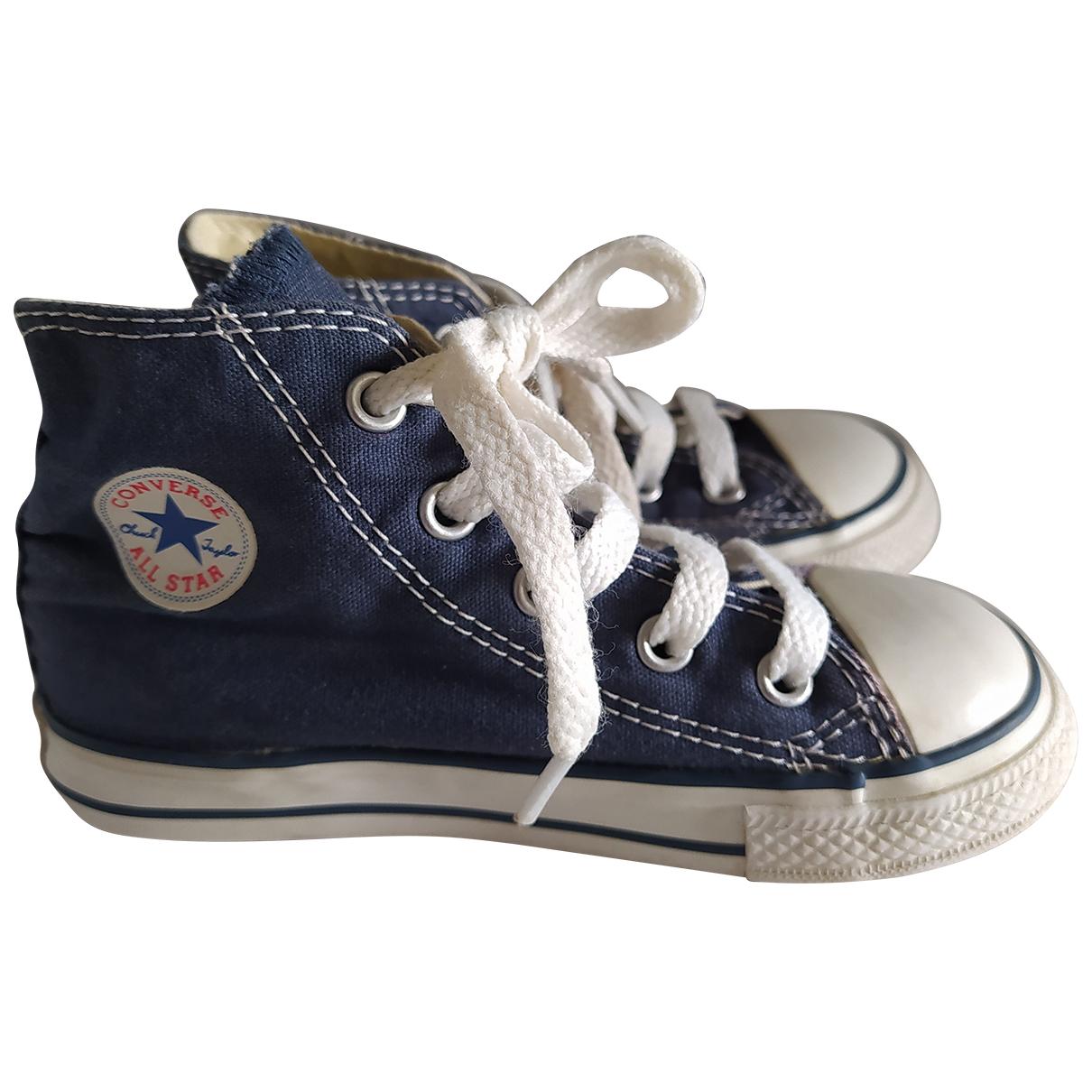 Converse - Baskets   pour enfant en toile - bleu