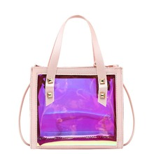 Holographic Satchel Bag