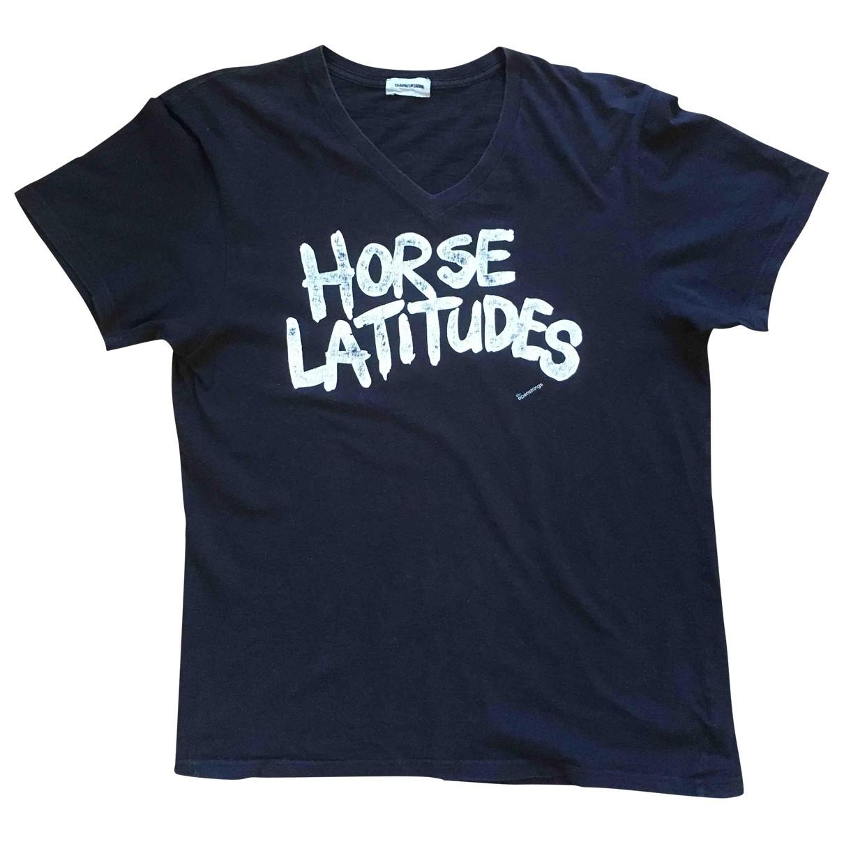 Undercover - Tee shirts   pour homme en coton - noir