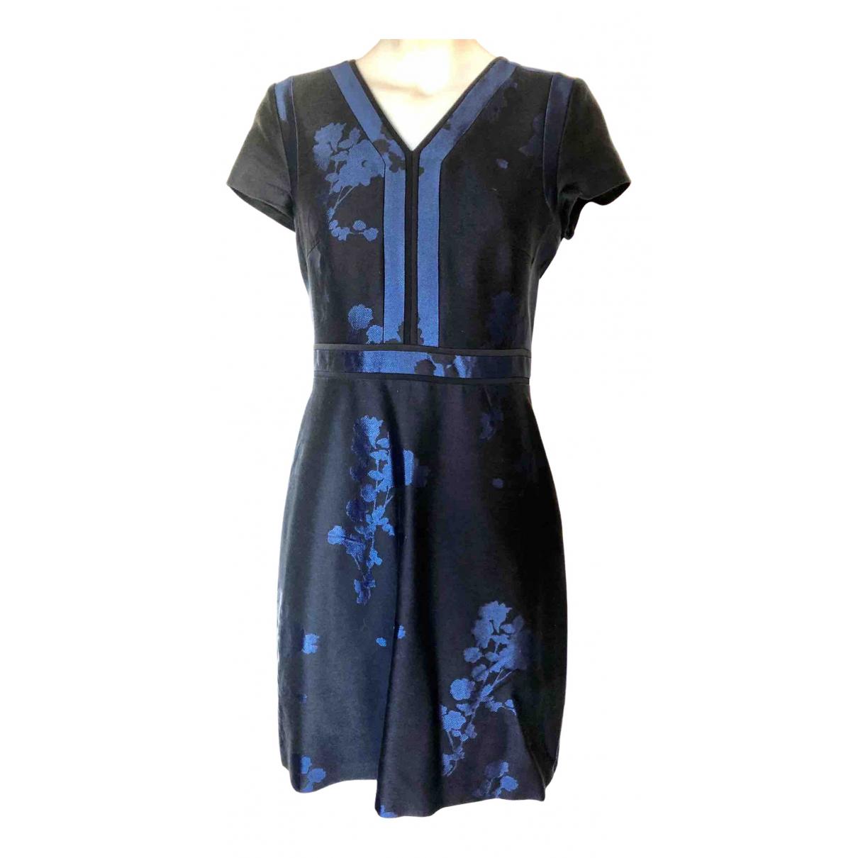 Boss \N Kleid in  Blau Baumwolle