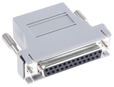 RS PRO D Sub Adapter Female 25 Way D-Sub to Female RJ45