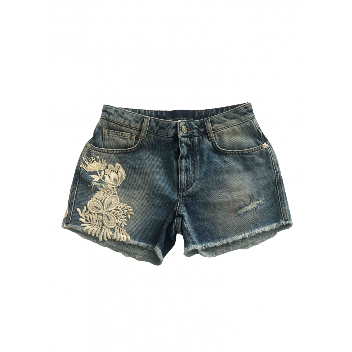 Ermanno Scervino \N Denim - Jeans Shorts for Women 38 IT