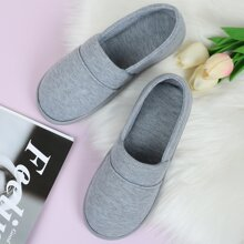 Minimalist Slip On Fluffy Slippers