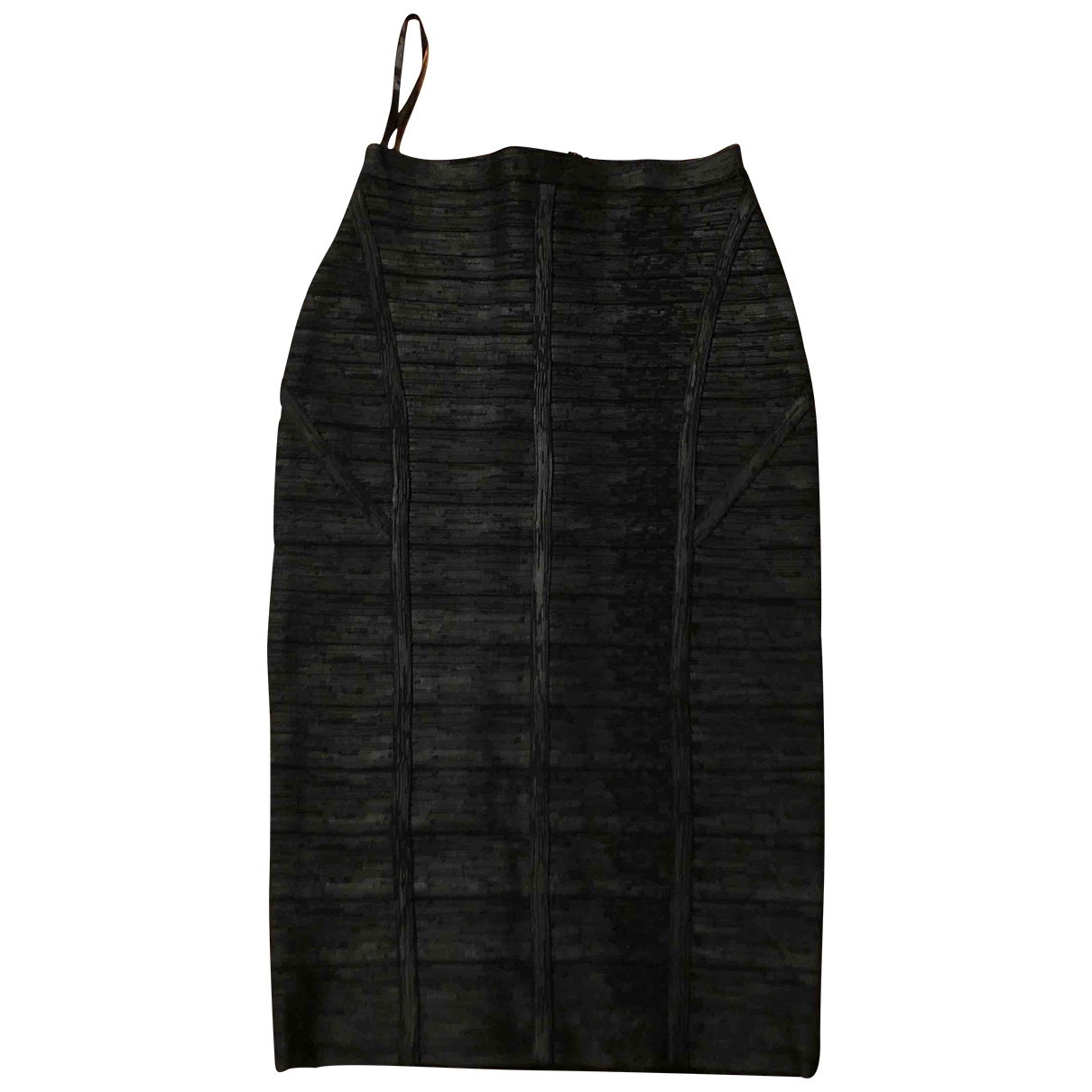 Non Signé / Unsigned \N Black skirt for Women 34 FR