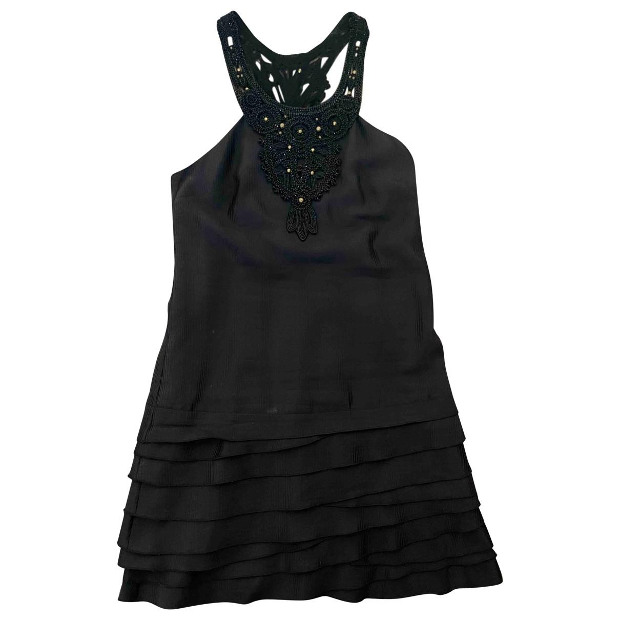Barbara Bui \N Black Silk dress for Women 38 FR