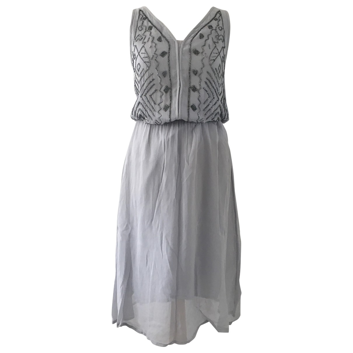 Ichi - Robe   pour femme - gris